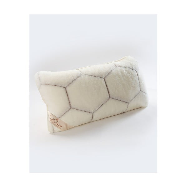 Vlněný polštář Royal Dream Cashmere He,40x70cm