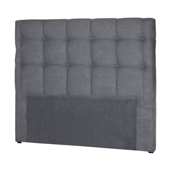 Sivé čelo postele Stella Cadente Maison Planet, 180 × 118 cm