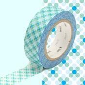 Modro-bílá washi páska MT Masking Tape Oboro