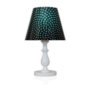 Stolní lampa Tajemný orient, modrá