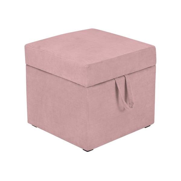 Cube rózsaszín ülőke tárolóhellyel - KICOTI
