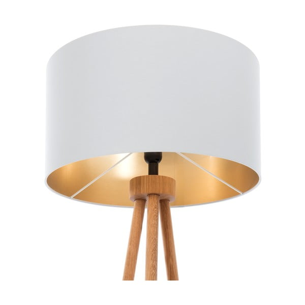 Stojací lampa Gold Inside Gray