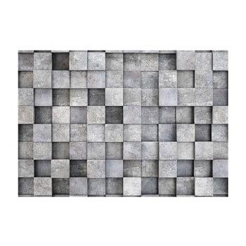 Tapet format mare Bimago Consrete Cube, 400 x 280 cm poza