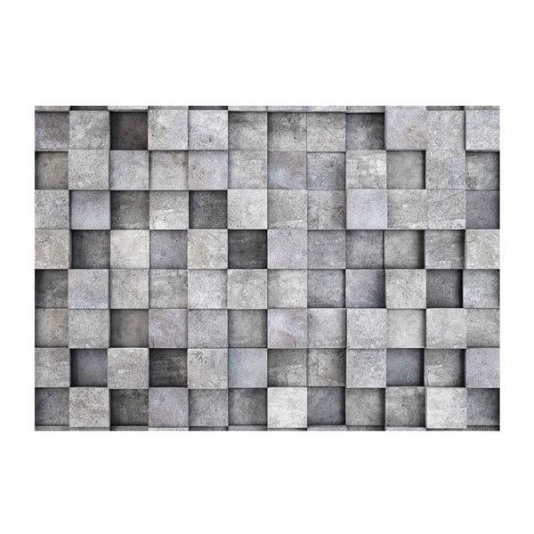 Tapet format mare Bimago Consrete Cube, 400 x 280 cm