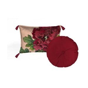 Sada 2 dekorativních polštářů Velvet Atelier Geisha, 45 x 45 cm