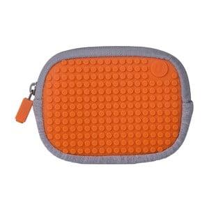 Pixelové univerzální pouzdro, grey/aqua orange