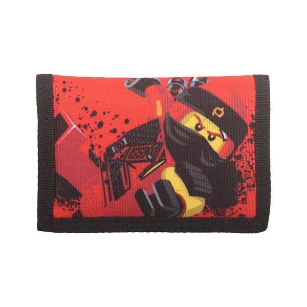 Czerwony portfel LEGO® NINJAGO Kai