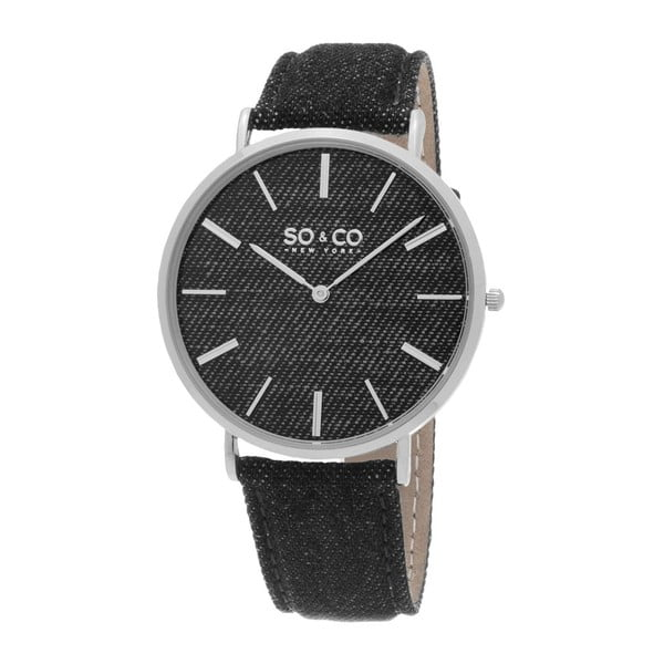 Pánské hodinky SoHo Club Silver/Black