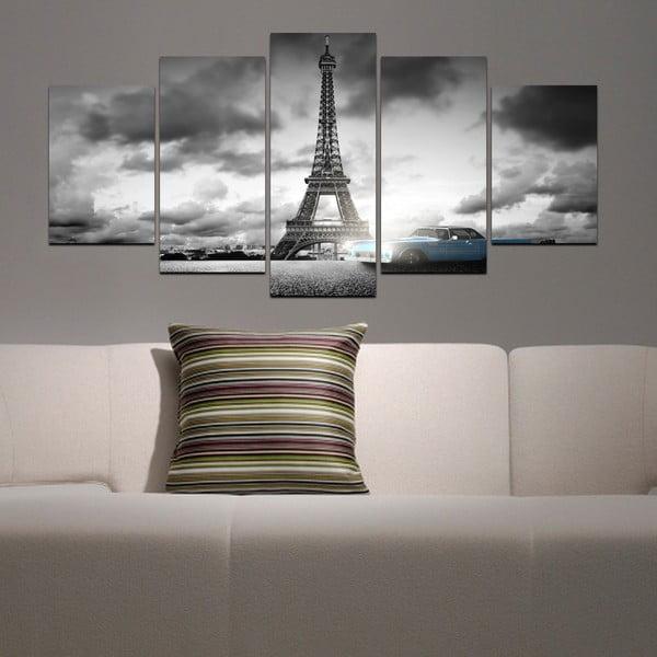 Vícedílný obraz Black&White no. 66, 100x50 cm