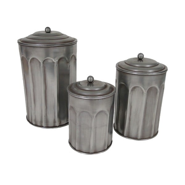 Set 3 doze Antic Line Bins
