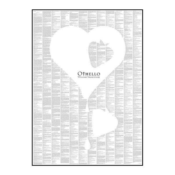 Knižní plakát Othello, 50x70 cm