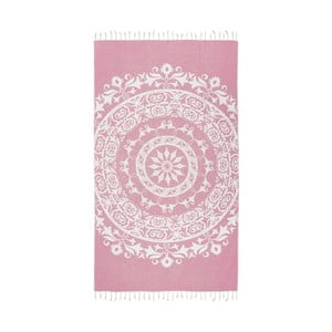 Prosop baie hammam Kate Louise Madalena, 165 x 100 cm, roz