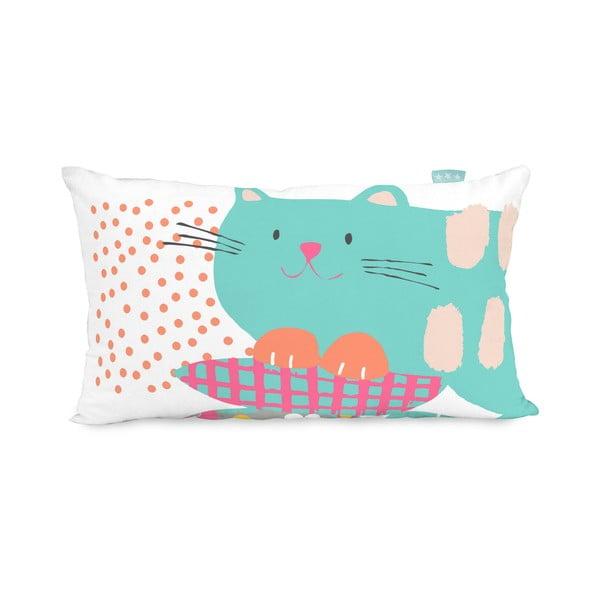 Oboustranný povlak na polštář Moshi Moshi Cat&Mouse, 50x30cm