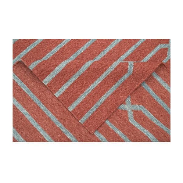 Vlněný koberec Kilim Modern 843, 120x180 cm