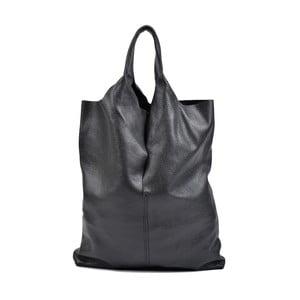 Černá kožená kabelka Isabella Rhea Pemlio