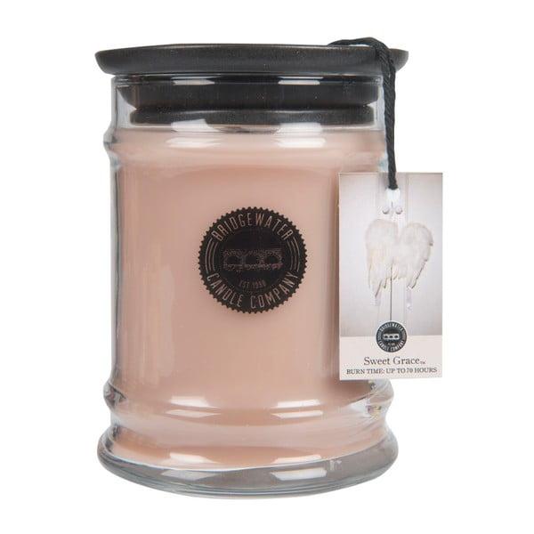 Svíčka ve skleněné dóze s vůní orientu Bridgewater candle Company Sweet Grace, doba hoření 65-85 hodin