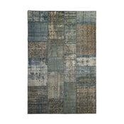 Vlněný koberec Allmode Patchwork Blue, 200x140 cm