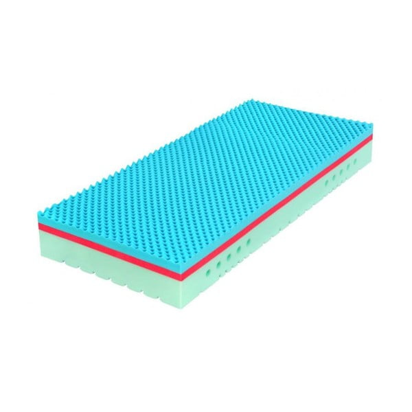 Matrace zpaměťové pěny Tropico TAU SOFT II Wellness, 200x180x20cm
