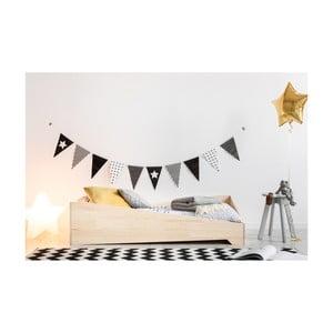 Dětská postel z borovicového dřeva Adeko BOX 7, 90x170 cm