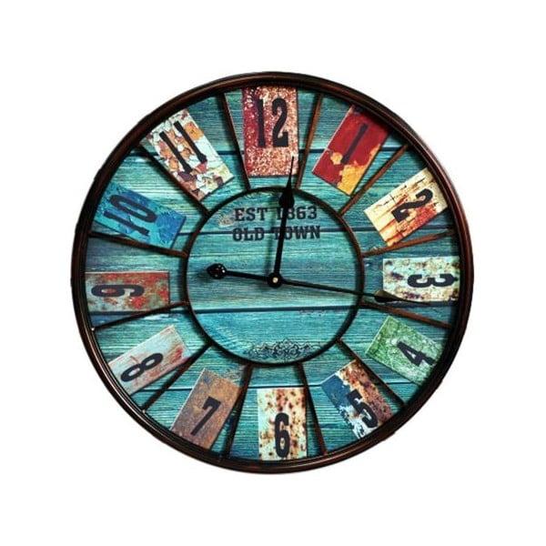 Nástěnné hodiny Bluebood, 58 cm