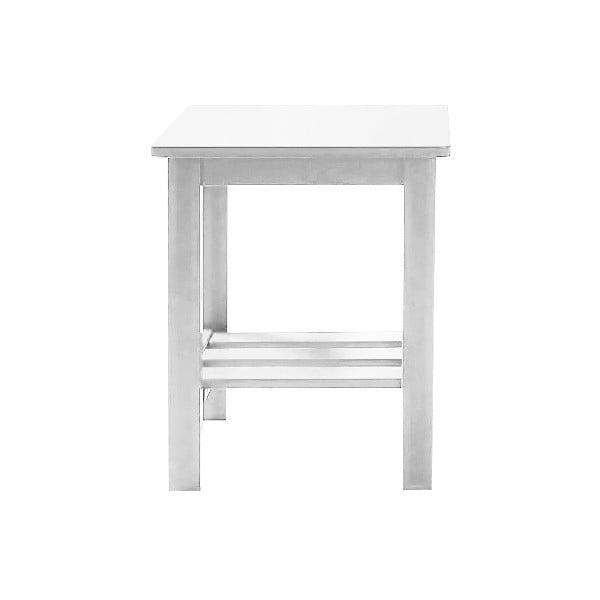 Noční stolek Trend Range, bílý