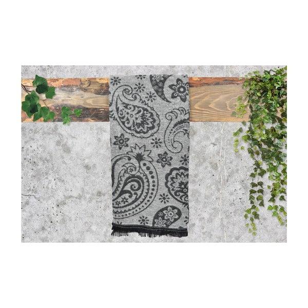 Bílý dámský šál s příměsí bavlny Dolce Bonita Otantic, 170 x 90 cm