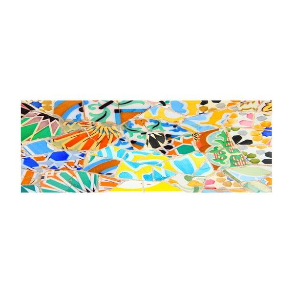 Koberec z vinylu Trencadis Gaudi, 66x180 cm