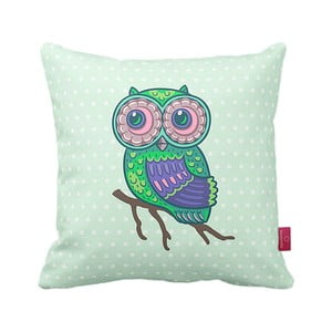 Polštář Green Owl, 43x43 cm