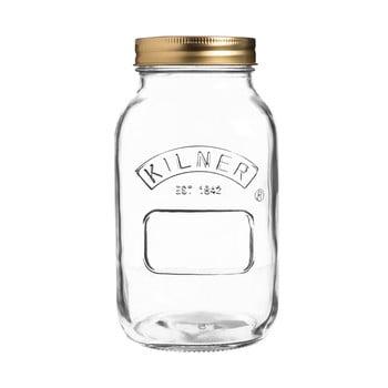 Borcan din sticlă cu capac Kilner, 1 L imagine