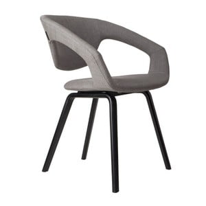 Židle Flexback Black Light Grey