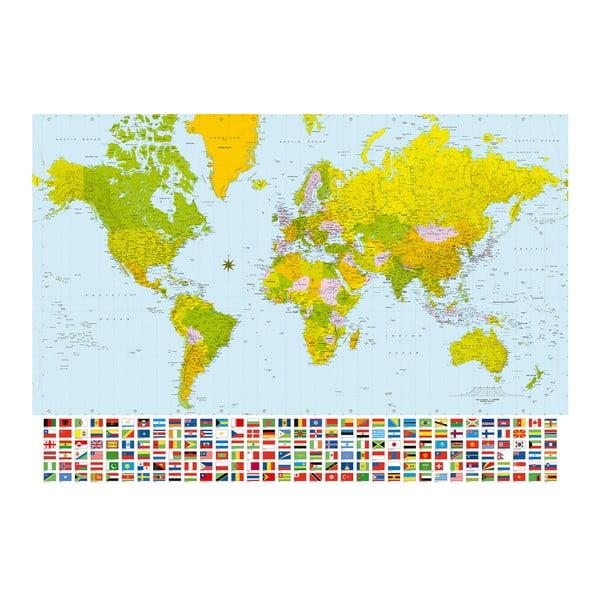 Velkoformátová tapeta Barevný svět, 366x254 cm