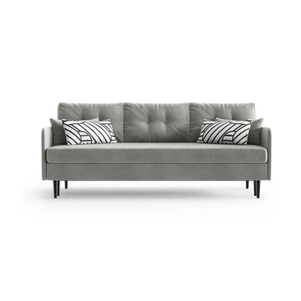 Memphis Grey szürke háromszemélyes kinyitható kanapé - Daniel Hechter Home