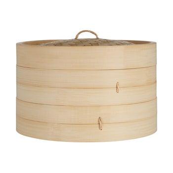 Coș bambus pentru gătit la abur Premier Housewares, ⌀ 25 cm imagine