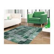 Zelený koberec odolný proti skvrnám Floorita Montage, 120x180cm