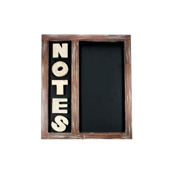 Nástěnná tabule Notes Chalk