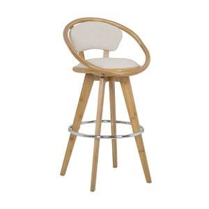 Barová židle z bambusu Mauro Ferretti Bamboo Globe