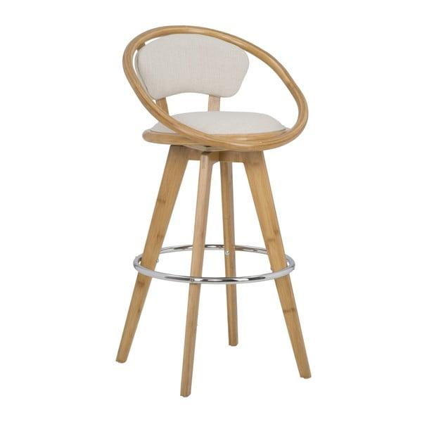 Barová stolička z bambusu Mauro Ferretti Bamboo Globe