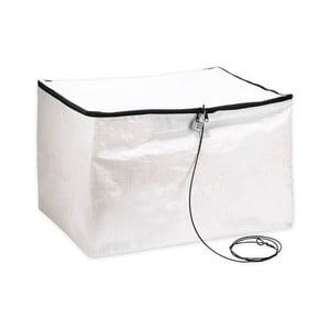 Bílý ochranný box se zámkem proti zlodějům Kikkerland Safe