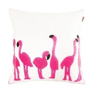 Polštář Domarex Zoo Flamingo, 45x45 cm