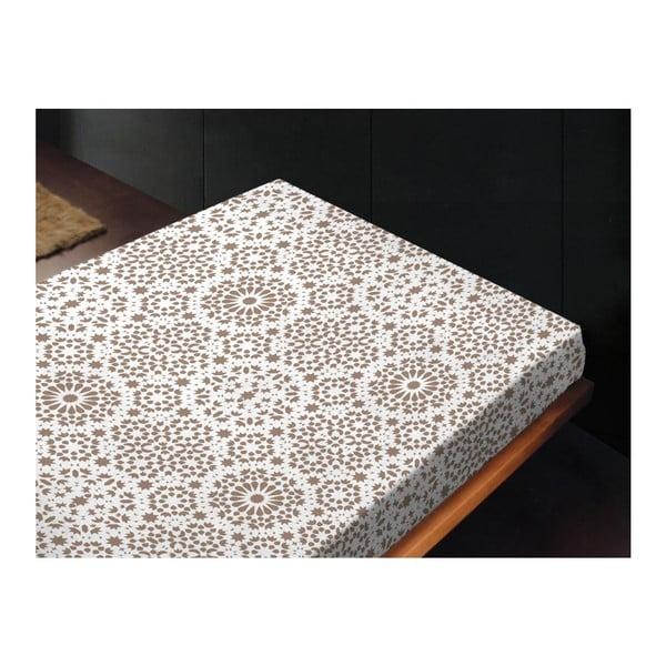 Neelastické prostěradlo Sur Topo, 180x260 cm