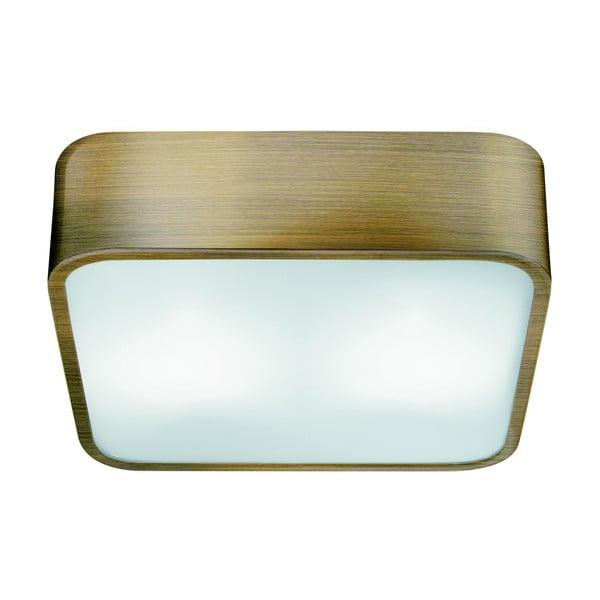 Stropní svítidlo Searchlight Flush, 25 cm, zlatá