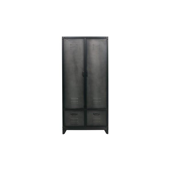 Čierna konštrukcia skrine vtwonenVt-Wonen
