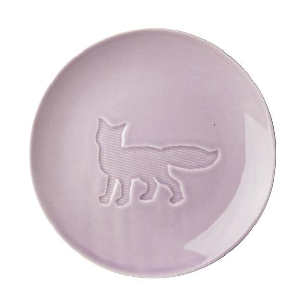 Keramický talíř Animal Lavender