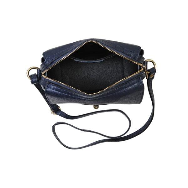 Modrá kabelka z pravé kůže Andrea Cardone Alessio