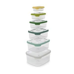 Kompaktní sada 6 misek na jídlo Joseph Joseph Nest Opal
