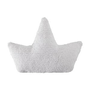 Bílý bavlněný ručně vyráběný polštář Lorena Canals Boat, 22x50cm