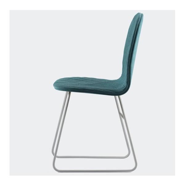 Židle Mannequin V, tyrkys
