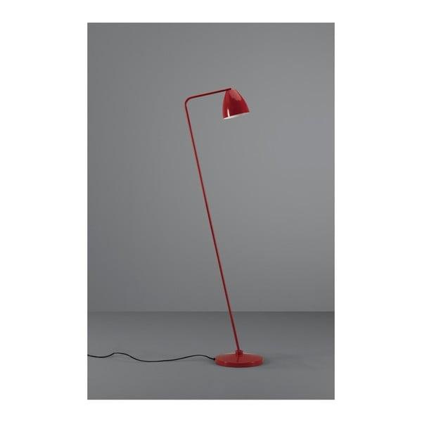 Červená stojací lampa Design Twist Cervasca