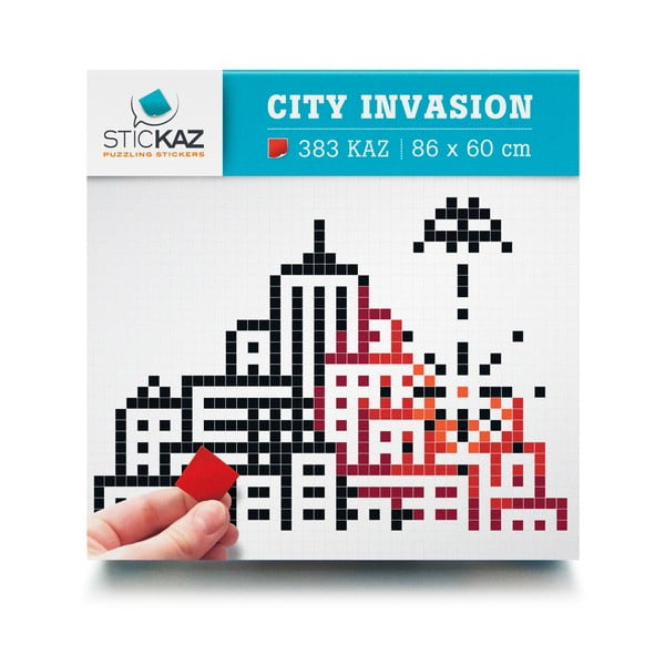 Samolepky City Invasion