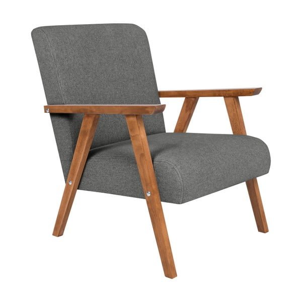 Terry sötétszürke fotel - HARPER MAISON